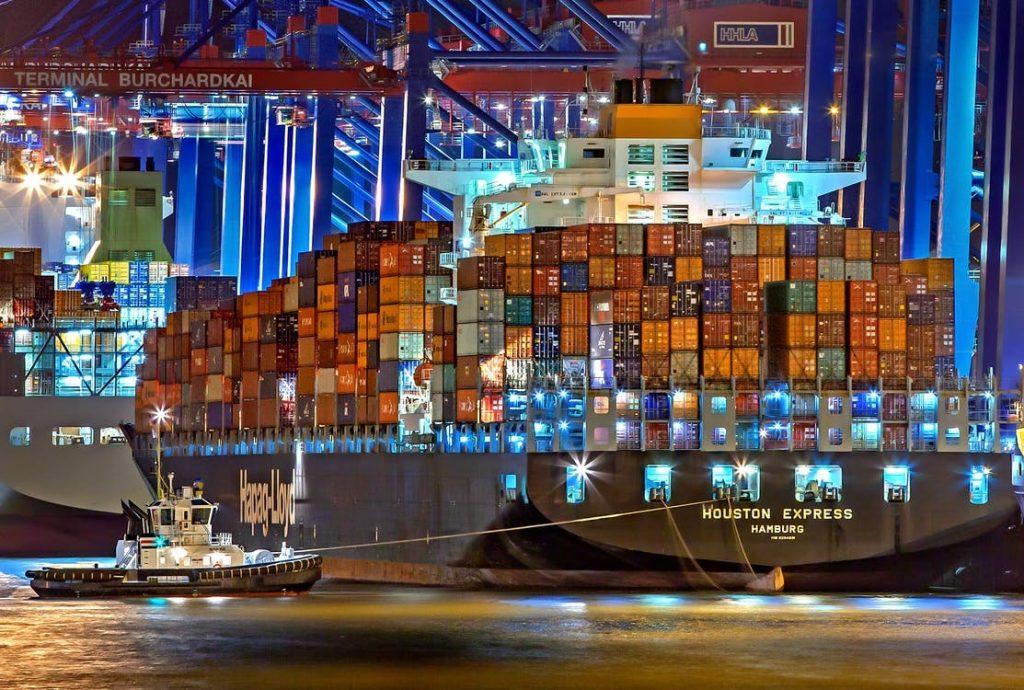 schip haven rotterdam