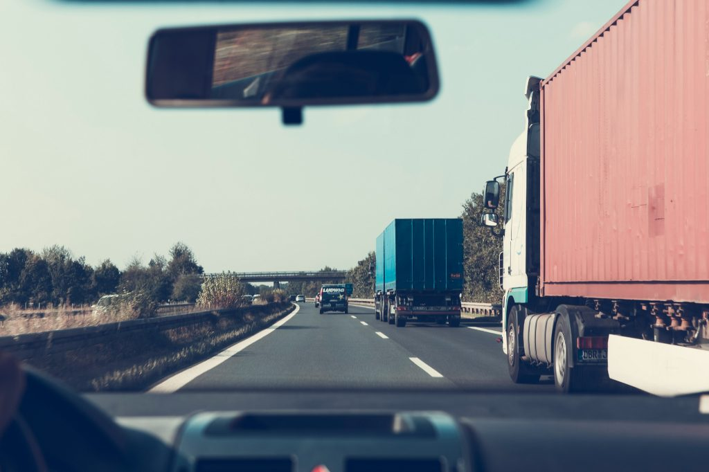 Trailer - container - vrachtwagen